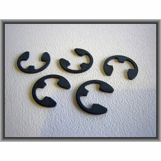 "3/8"" E-Type Retaining Rings (50) Clips Locks"