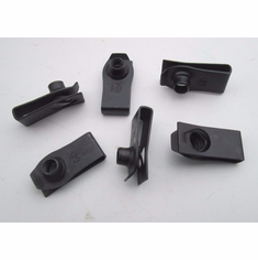 """5/16-18 .010-170"""" Extruded U Nuts Speed Nuts Fenders Hoods Auto Free Shipping"""