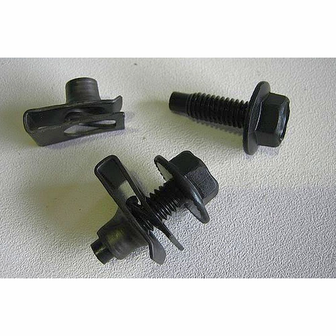 "5/16"" X 1"" Fender Bolts & Extruded U-Nuts 5/16-18"