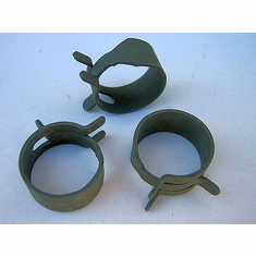 "5/8"" Spring Action Hose Clamps (25) 5/8"" Hose OD"