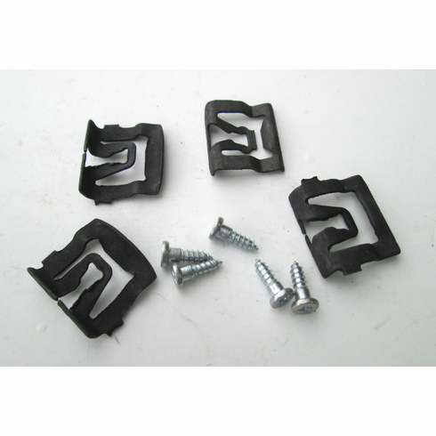 66-67-68-69 Ford Galaxie Windshield Reveal Moulding Clips (20)