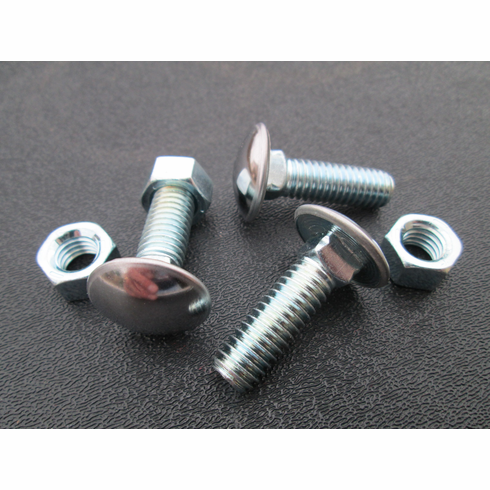 """7/16""""-14 X 1-1/4"""" SS Capped Round Head Bumper Bolts"""