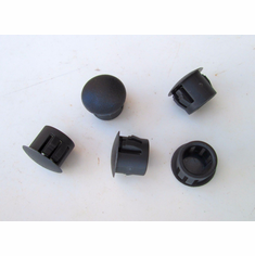 "7/16"" Nylon Locking HOLE PLUGS Plug Buttons (25) Max Thickness 1/8"""