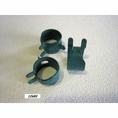 "7/16"" Spring Action Hose Clamps (25)"