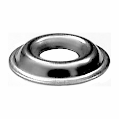 #8 Flanged Type Countersunk Washers Stainless Steel (100)