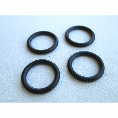 "9/16"" ID Rubber Buna Rubber O-Rings (50) 3/4"" OD"