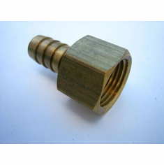Brass Hose Barb To Taper Female Pipe 1/2 ID 3/8 Thread (5)
