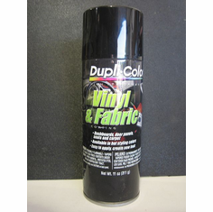 Dupli-color Gloss Black Vinyl/Fabric Coating