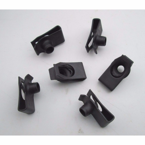 Extruded U Nuts Speed Nuts Ford GM M6-1.0 Fenders Hoods Auto