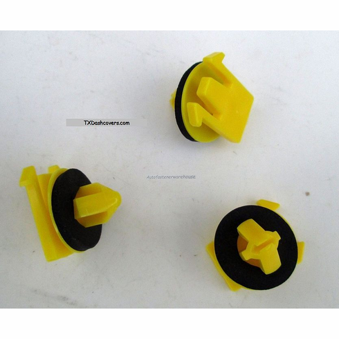 Fits Cadillac SRX 2010-On Lower Door Moulding Clips W/Sealer