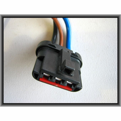 Ford Radiator Cooling Fan Motor Harness Connector
