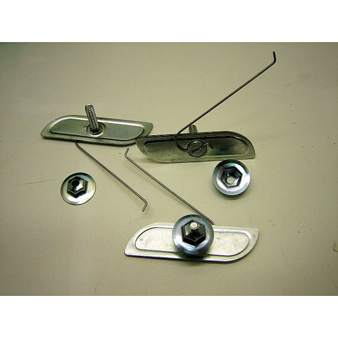"GM 1""-1-1/4"" Moulding Clips W/Nuts (15) 4676189"