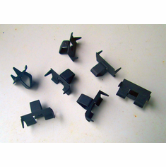 GM Chevrolet Door Quarter Glass Channel Clips Retainers
