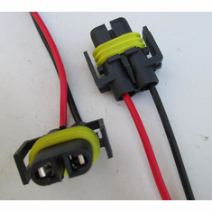 H11/H8 Fog Light Harness Connectors Lamp holder Sockets