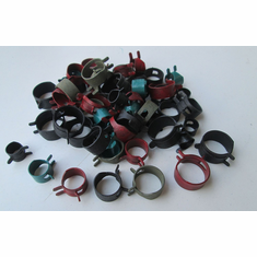 HOSE CLAMP Assortment (56-Pieces) Fuel Lines Injection Controls 7-Sizes