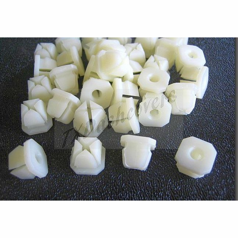 Instrument Panel Nuts Plastic Front End Nuts  #8 Screw Size (25)