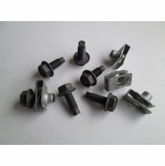 M8-1.25  X 16 MM Body Bolts & U Nuts