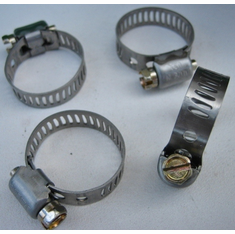 "Mini Hose Clamps #6 Stainless Steel Range 1/2""-7/8"""