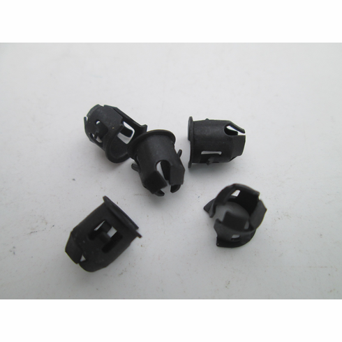 "Tubular Nuts 1/8"" Stud Size Emblems (25) 1/4"" Hole Panel Range .036-.046"