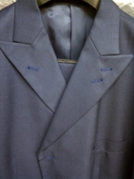 Angelino 3 Button Blue Suit Size 54L