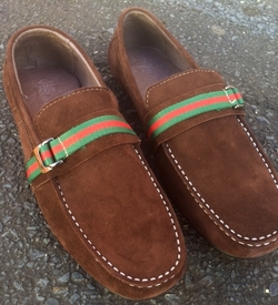 Angelino Brown Suede Shoes