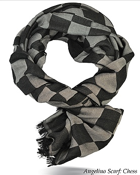 Angelino Chess Scarf