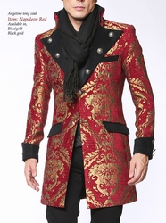 Angelino Napolean Red Coat -special order