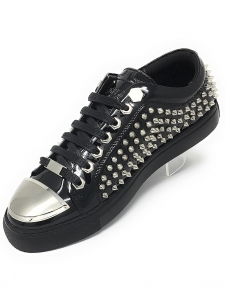 Angelino R.Spike Black Low Sneakers