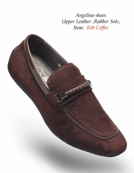 Angelino Rob Coffee Shoes (Special Order)