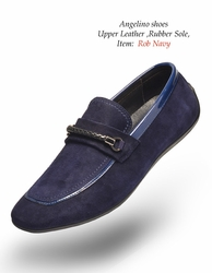 Angelino Rob Navy Shoes (Special Order)