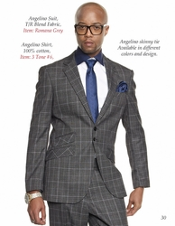 Angelino Romana Grey Suit