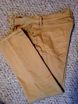 Gold Slim fit Denim Jeans size 40/L32