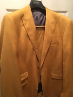 Angelino Yellow Gold 2pc Suit size 46L