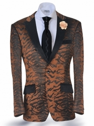Angelino Tiger Brown Blazer (Special Order)