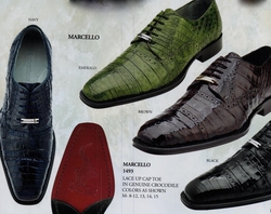 Belvedere Marcello Crocodile Shoes