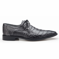 Belvedere Rome Crocodile Shoes Antique Gray