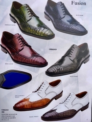 Belvedere Urbano Alligator and Calfskin Shoes