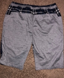 Burberry Blue Check Short W32 (back view)