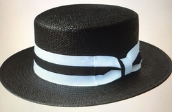 Boater Hat -Black