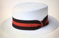 Boater Hat -White