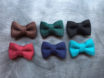 Bowtie Lapel pins(6 colors)