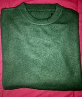 Green Cashmere Wool sweater size M
