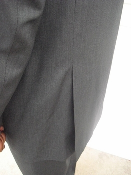 Charcoal 2 button suit (view#2)