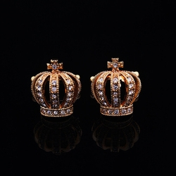Crown Gem Cufflinks