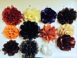Group A Lapel Flowers