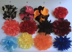 Group B Lapel Flowers