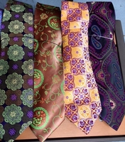 Group B Silk Neckties w/Matching Hanky