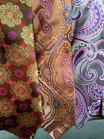 Group C Silk Neckties w/Matching Hanky