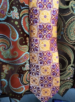 Group G Silk Neckties w/Matching Hanky
