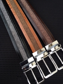 Leather Tweed Belts